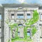 Discover Tyrone House, Co. Galway in Watercolour