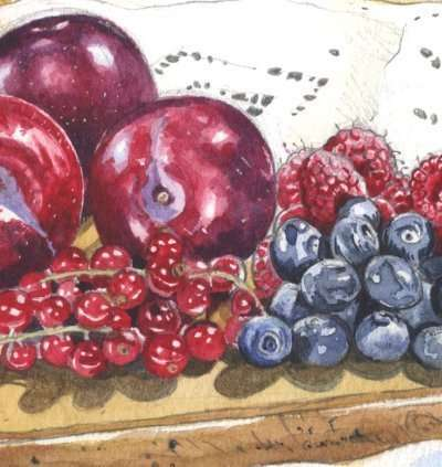 Painting a Still Life in Watercolour