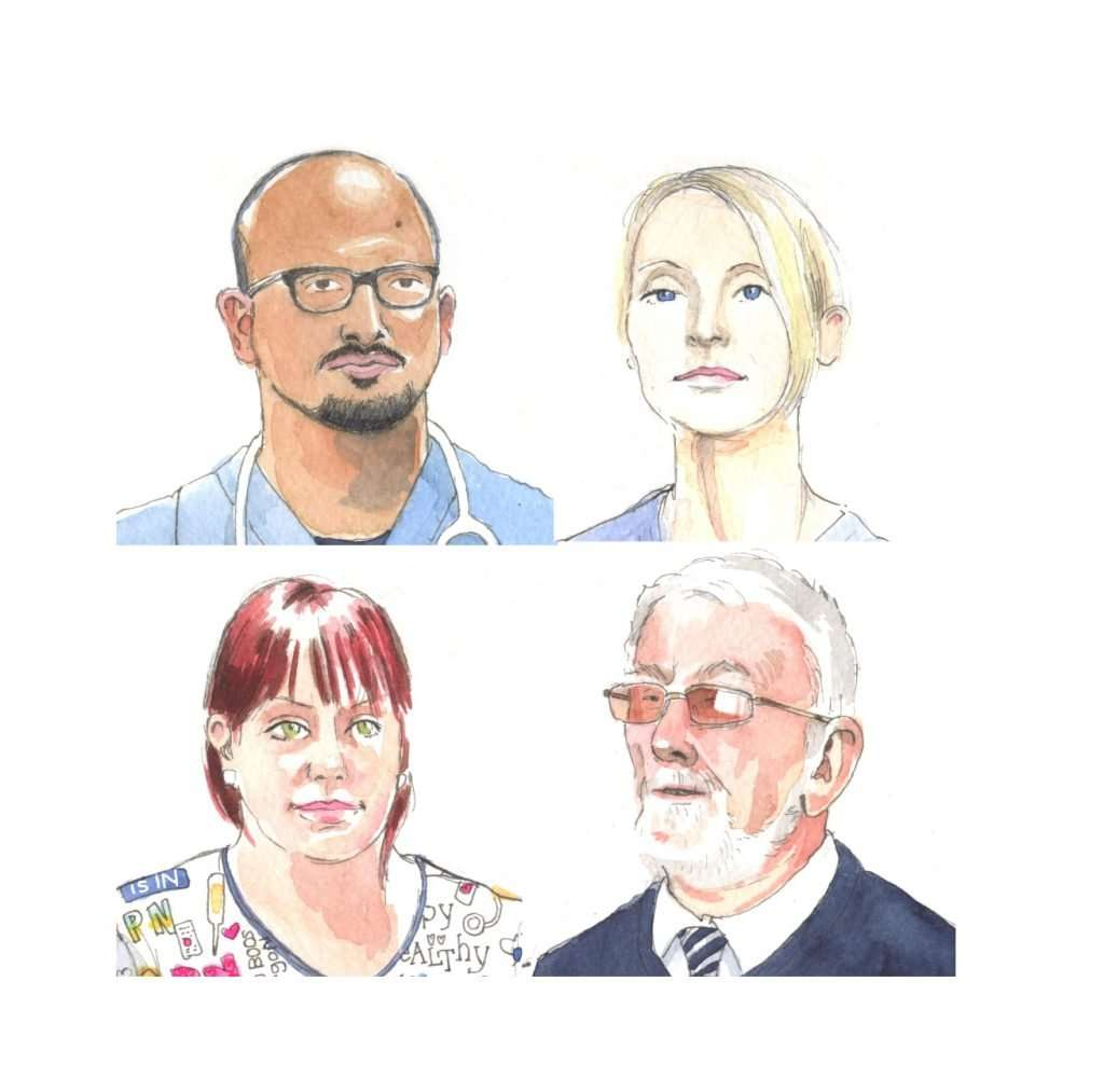 Drawing the Carers: Portraits of Hospital Life