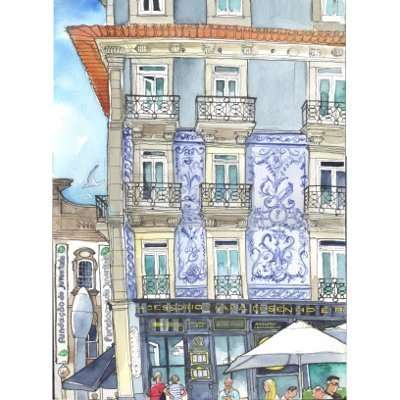 Sketching A Love Letter To Porto: 9th USk Symposium 2018
