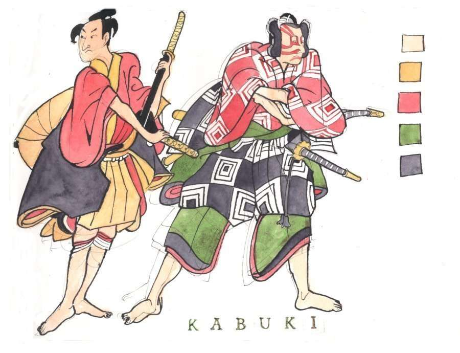 Colouring In With Kabuki